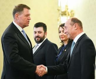 Basescu ii cere lui Iohannis sa lupte: Nu poate sa abdice in fata lui Daddy, nu e rege.Trebuia semnat un protocol de colaborare