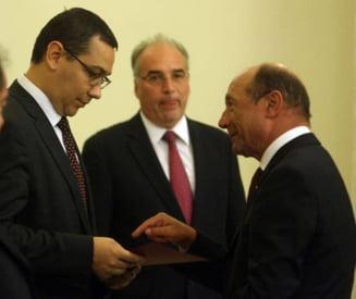 Basescu ii scrie lui Ponta - Guvernul, ilegitim fara un nou program de guvernare