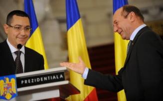 Basescu ii scrie lui Ponta: Vizam o remaniere