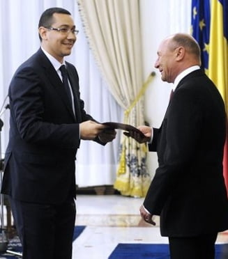 Basescu il acuza pe Ponta ca isi insuseste atributiile presedintelui