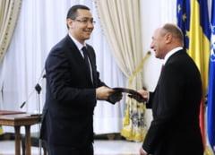 Basescu il ataca pe Ponta: Ofiter acoperit, plagiator, un bolovan la piciorul Romaniei. Ce penibili sunt unii!