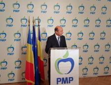 Basescu isi da demisia din fruntea PMP: Cred ca mi-am atins obiectivul politic de a crea un partid nou
