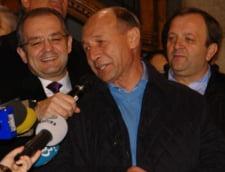 Basescu isi serbeaza ziua la Vila Lac, cu parlamentarii PDL