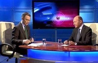 Basescu nu se vrea presedinte peste o tara muribunda