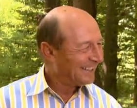 Basescu rade in hohote: ironii catre Becali si Dragomir (Video)