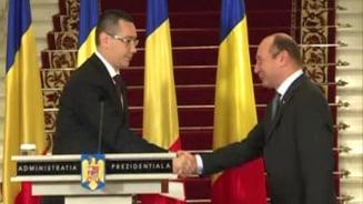 Basescu retrimite o lege de cooperare intre Parlament si Guvern: E neconstitutionala