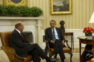 Basescu s-a intalnit cu Obama la Casa Alba - vezi ce au vorbit si imagini oficiale