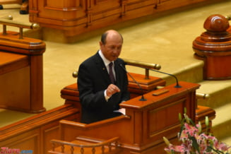 Basescu se adreseaza, marti, Parlamentului. Ponta, prezent. Antonescu, absent