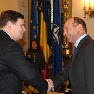 Basescu se intalneste cu delegatia FMI, miercuri
