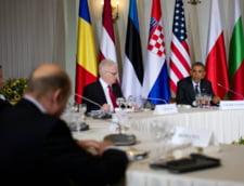Basescu si Obama, intalnire cu liderii europeni in Polonia