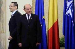 Basescu si Ponta, la Carei, la ceremoniile de Ziua Armatei: nu au dat mana