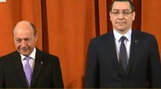 Basescu si Ponta, unul langa altul, la bilantul MApN - UPDATE