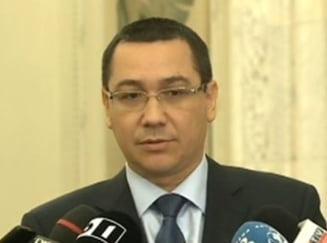 Basescu si Ponta nu s-au inteles pe memorandum, bugetul ramane in aer