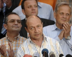 Basescu si Ungureanu, invitati la lansarea candidatilor PDL la locale