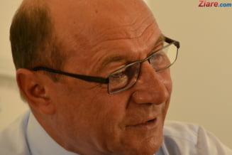 Basescu spune iar ca se retrage din politica: Gata!