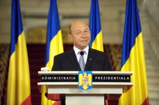 Basescu vrea Statele Unite ale Europei si cedare de suveranitate