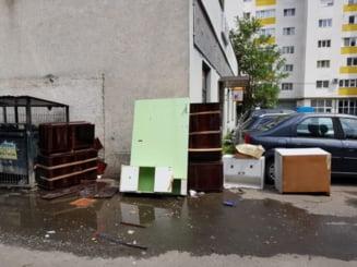 Bataie de joc la punctele de colectare a gunoiului din Zalau