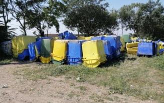 Bataie de joc pe fonduri europene. Tomberoane casate inainte de folosire si rampe de gunoi construite in batjocura