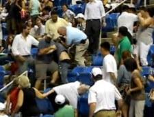 Bataie intre spectatori, la US Open (Video)