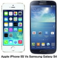 Batalia colosilor IT: iPhone 5S contra Samsung Galaxy S4 - Care e mai tare