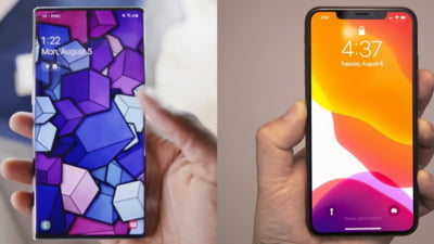 Batalia gigantilor: Samsung Galaxy Note 10 Plus versus iPhone XS Max - Care e mai tare?