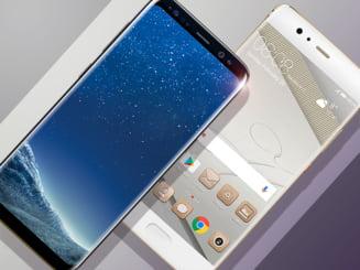 Batalia gigantilor: Samsung Galaxy S8 Plus vs. Huawei P10 Plus. Care e mai tare?