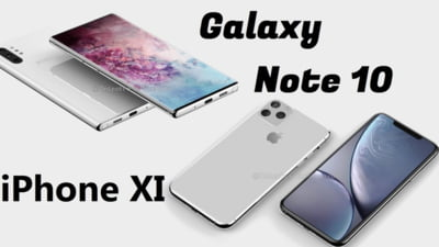 Batalia gigantilor de peste 1.000 de euro: iPhone 11 Pro versus Samsung Galaxy Note 10+