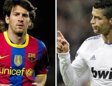 Batalie nebuna intre Messi si Cristiano Ronaldo