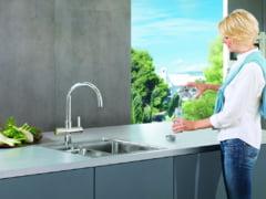 Baterii de bucatarie cu filtru de apa | Bea o apa pura,filtrata impreuna cu Grohe si magazinul BATERII-LUX.ro
