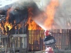 Batrana decedata in incendiu la Darabani