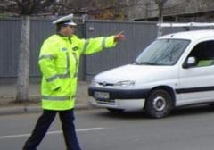 "Batranel ""tupeist"", prins de politistii clujeni la volan cu permisul suspendat"