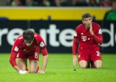 Bayern Munchen a pierdut pentru prima data in acest sezon de Bundesliga. Umilinta la Gladbach