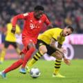 Bayern Munchen a spulberat-o pe Borussia Dortmund in derbiul Germaniei (Video)