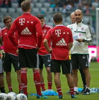 Bayernul lui Guardiola vine la Bucuresti pentru un meci de gala