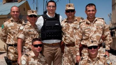 Baza romaneasca din Afganistan, atacata cu rachete - Ponta, adapostit in buncar UPDATE