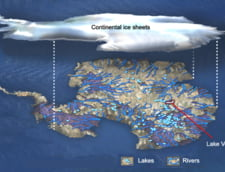 Baza secreta nazista in lacul misterios de sub Antarctica?
