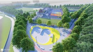 Baza sportiva de peste cinci milioane de euro in Manastur, cel mai mare cartier al Clujului