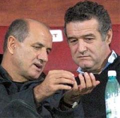 """Becali il da de gol pe Copos: """"Nu, Gicuta, te rog! Sa nu spui asta"""""""