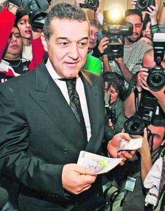 Becali si-a imprumutat prietenii cu 50.000.000 Euro!