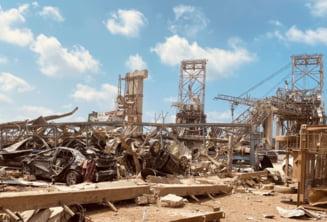 Beirut: Peste o tona de dispozitive pirotehnice gasite de armata libaneza in portul devastat de explozie