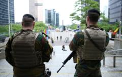 Belgia a dejucat un atentat terorist ce urma sa aiba loc la Bruxelles si mentine nivelul trei de alerta