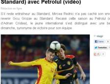 Belgienii, incantati de golul lui Gicu Grozav
