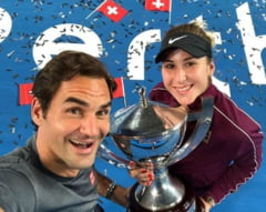 Belinda Bencic, ajutata de Roger Federer ca s-o invinga pe Simona Halep