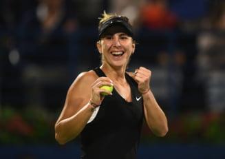 Belinda Bencici a luat o decizie inedita dupa ce a triumfat in turneul WTA de la Dubai
