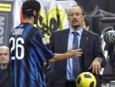 Benitez risca sa fie dat afara de la Inter din cauza lui Chivu!