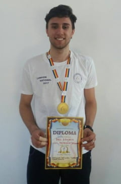 Benjamin Bodo, campion national la tineret
