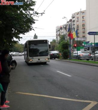 Benzi unice pentru autobuze si trolee, in Bucuresti? RATB vine cu un proiect-pilot