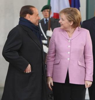 Berlusconi, despre Merkel: O vaca grasa, pe care nu ar dori-o nimeni in pat