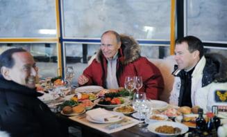 Berlusconi sustine ca Putin i-a propus sa fie ministru in Rusia - Kremlinul reactioneaza