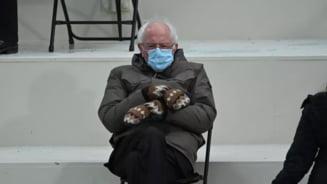 Bernie Sanders va strange milioane de dolari in scopuri caritabile, dupa ce fotografia cu manusi de la ceremonia de investitura a devenit virala